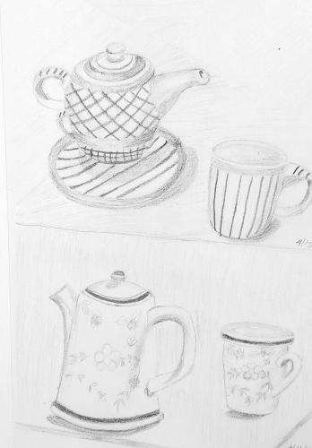 360- China Shop Tea pots