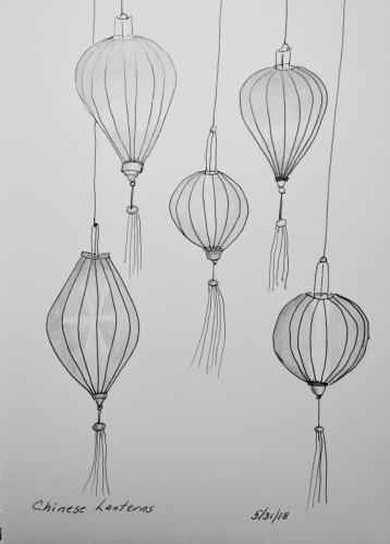 110 - Chinese Lanterns