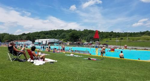 Fineleyville Mineral Beach Swimming Pool