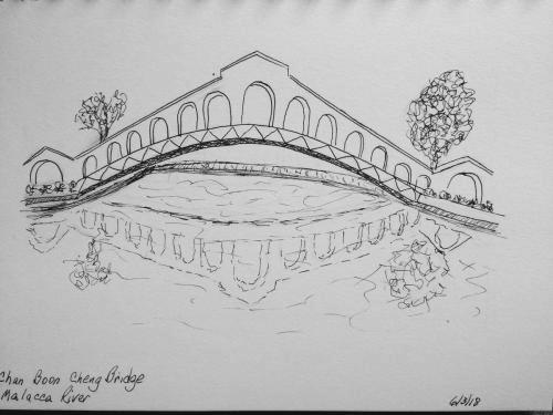130- Malacca Bridge