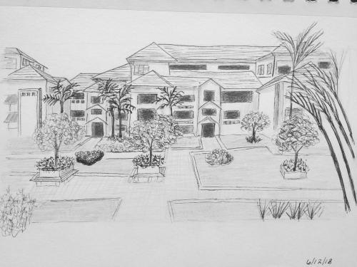 161- Kiara Park Garden bw