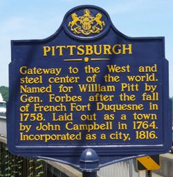 Pittsburgh sign